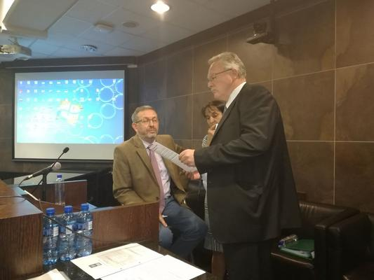 Professor Peter Havenga (seated) has been accused of making the working environment intolerable for black women in his department. Picture: ANA