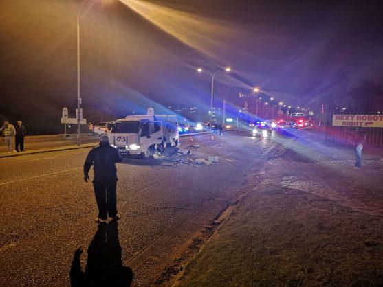 Cash-in-transit heist on Ontdekkers Road