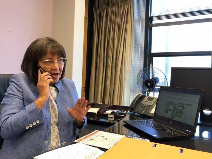 Cape Town mayor Patricia de Lille. Picture: Twitter