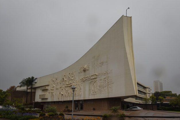 The University of Pretoria's Admin building is seen pictured, 5 October 2017, Pretoria. Picture: Jacques Nelles