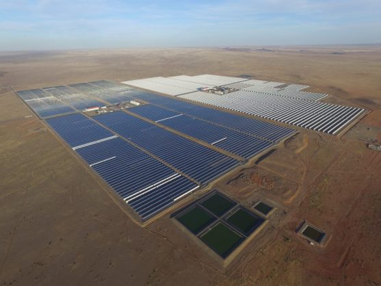 The R9.4 billion solar thermal plant Xina Solar One that was officially launched today in Pofadder, Northern Cape, 18 May 2018. Picture: Supplied by The Communications Firm / ANA