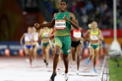 I don't talk about nonsense, says Caster after another fine win
