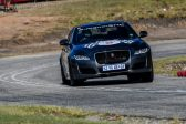 All the action at the Jaguar Simola Hillclimb