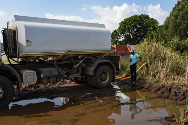 Rand Water paid R200 million to supply emergency water tanks to schools