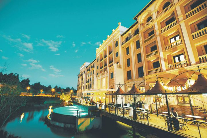 Montecasino is perfect for date night with a little diva