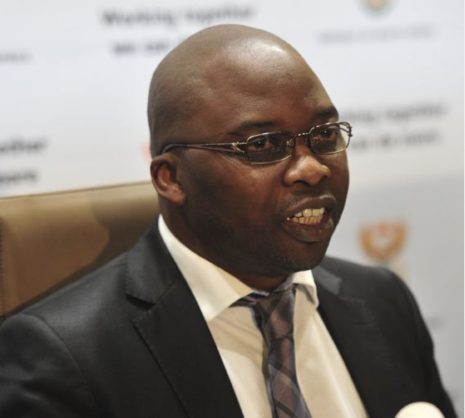 Minister of Justice Michael Masutha.