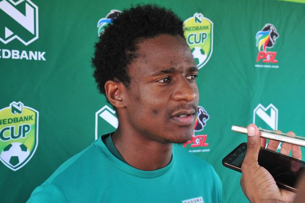 Talent Chawapiwa of Baroka FC (Photo by Philip Maeta/Gallo Images)