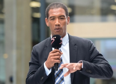 Ashwin Willemse during the 2017 Super Rugby Season launch at SuperSport Studios, Multichoice City on February 22, 2017 in Johannesburg. Picture: Gallo Images