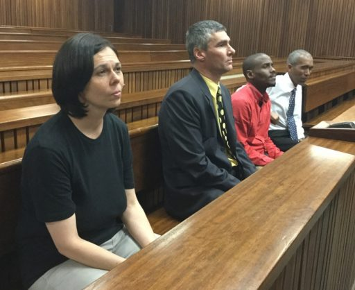 From left, murderers Estelle Reddy, Gerhard Papenfus and Kevin Johnson. Picture: Ilse de Lange