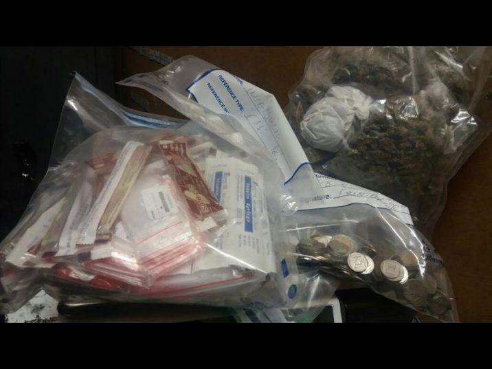 Drugs found in Centurion. Photo: Supplied