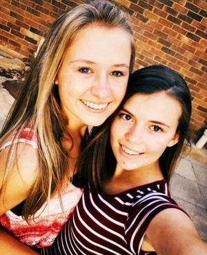 Sharnelle Hough and Marna Engelbrecht. Picture: Instagram