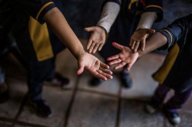 Children up for adoption paraded in Brazil shopping center