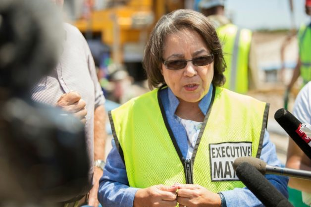 Patricia De Lille is out to prove her role as mayor is anything but 'ceremonial'.