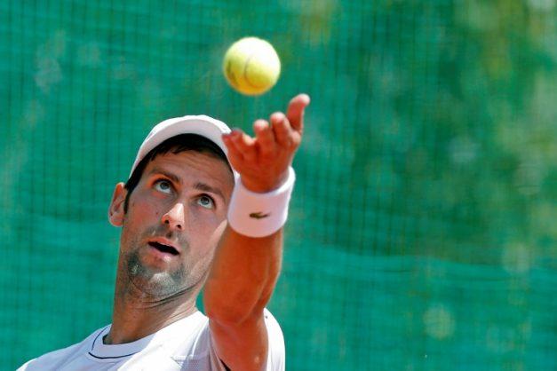 Novak Djokovic, pictured on May 2, 2018.