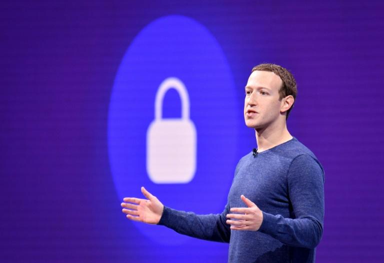 Mark Zuckerberg, chief of Facebook