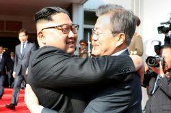 Korean leaders meet after Trump threatens to quit Kim summit