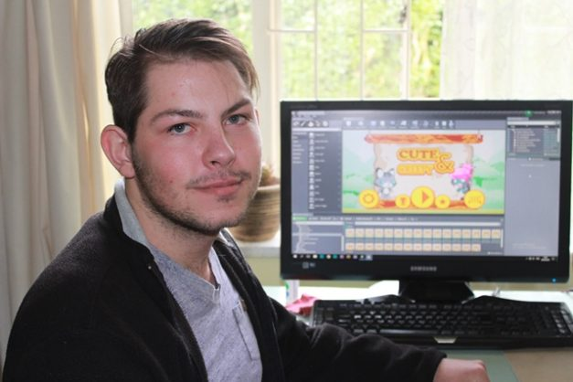 Jason Liebgott (22) from Evander, Mpumalanga developed a game for smartphones that will be launched on 21 June.