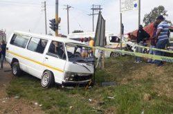 Six injured in KZN minibus taxi crash
