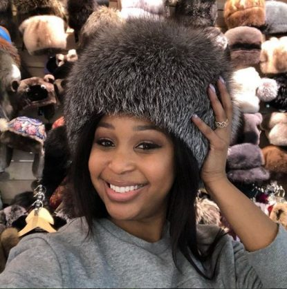 Photo from Minnie Dlamini's official Instagram account.
