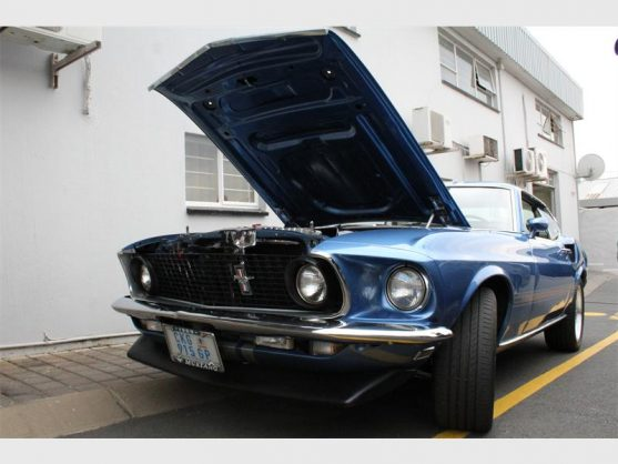 This 1969 model is owned by Tony Chavoos and is valued at about R900 000.