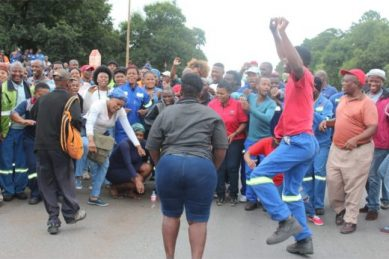 'Another Gupta entity' – Hundreds march to Melrose Arch over Mpumalanga mining deal