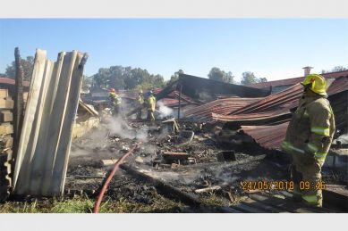Bitou Municipality applies for disaster funding after fire gutted homes