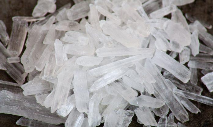 Alleged crystal meth dealer appears in court