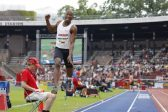 Cuban teenager trumps Luvo Manyonga with a beast of a jump