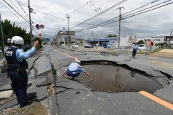 Japan earthquake kills three