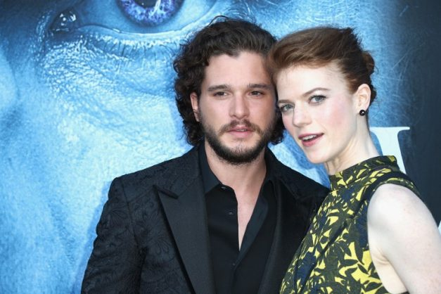 Frederick M. Brown(FILES) In this file photo actors Kit Harington and Rose Leslie attend the premiere of HBO's