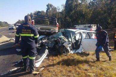 Top cop killed in Mpumalanga car crash
