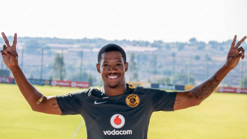 Kaizer Chiefs newly signed goalkeeper Virgil Vries at Amakhosi's training grounds.