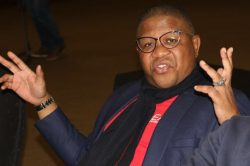 Mbalula reckons Bruno Mars looks good in 'ANC colours'