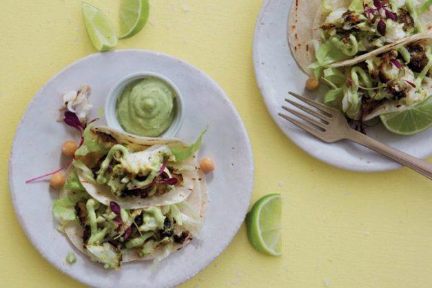Fish tacos.  Photo: Adel Ferreira