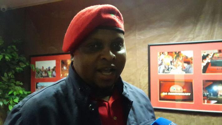 EFF chief whip Floyd Shivambu. File photo.