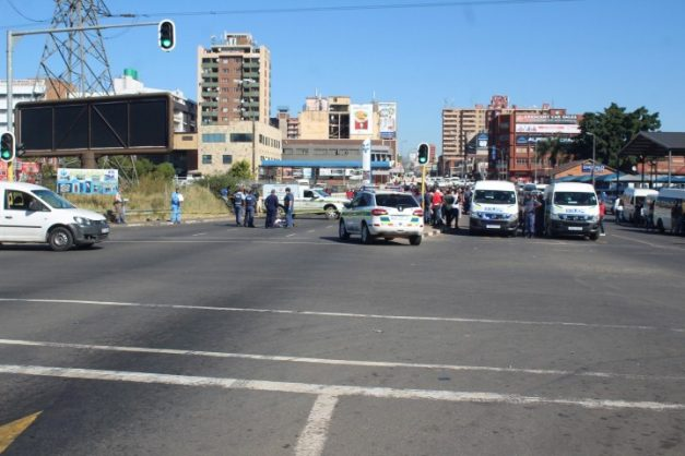 Pensioner caught in PMB taxi war crossfire: 'We saw bullets flying past us'
