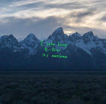The artwork for Kanye West's new album 'Ye'.
