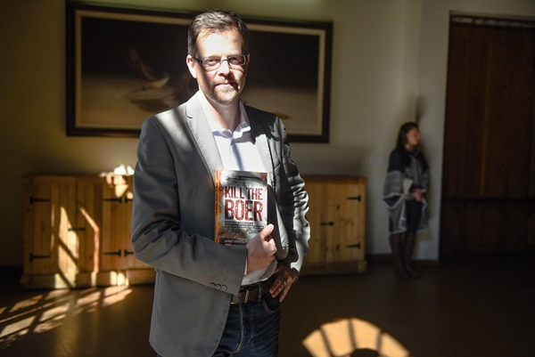 AfriForum's Ernst Roets, author of the newly released