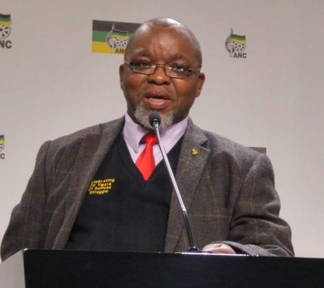 Secretary General of the ANC, Gwede Mantashe, at their 2015 NEC Lekgotla. Picture: ANA
