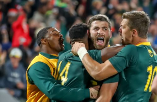 The Springboks can breathe easier after a win in the opening home Test of the year. Photo: Gallo Images.