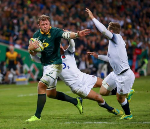 South Africa beats England 23-12 to clinch rugby Test series