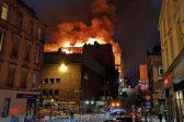 VIDEOS: Blaze rips through one of world's best art schools in Glasgow