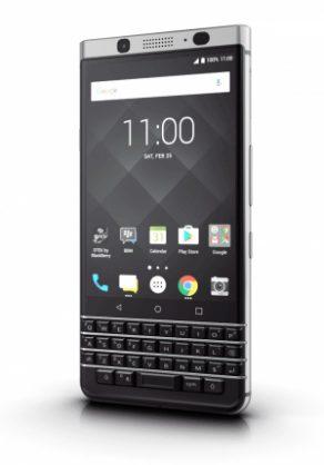 Blackberry KeyOne. Picture: Blackberry