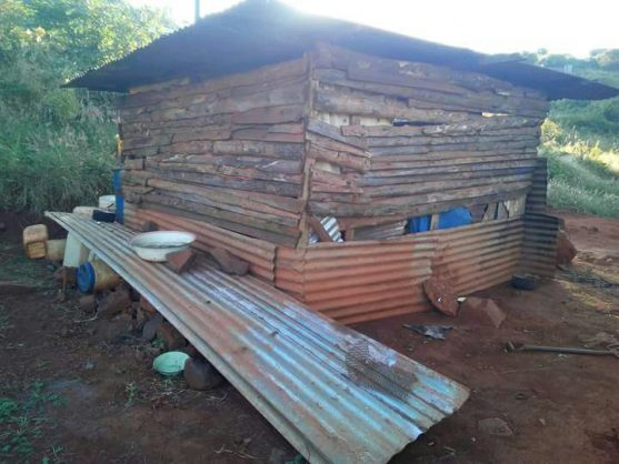 The Phukuntsi brothers' shack in Duthuni village, outside Thohoyandou in Limpopo, 18 June 2018. Picture: ANA