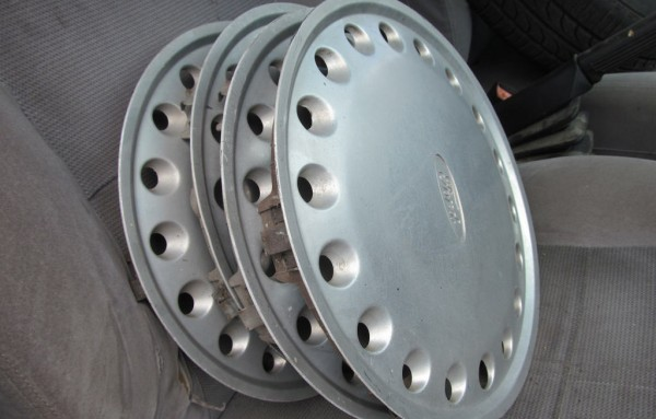 The hubcaps were found in the suspects' car. Photo: Flickr.