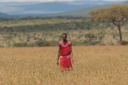 Mingling with a Masai in Tanzania