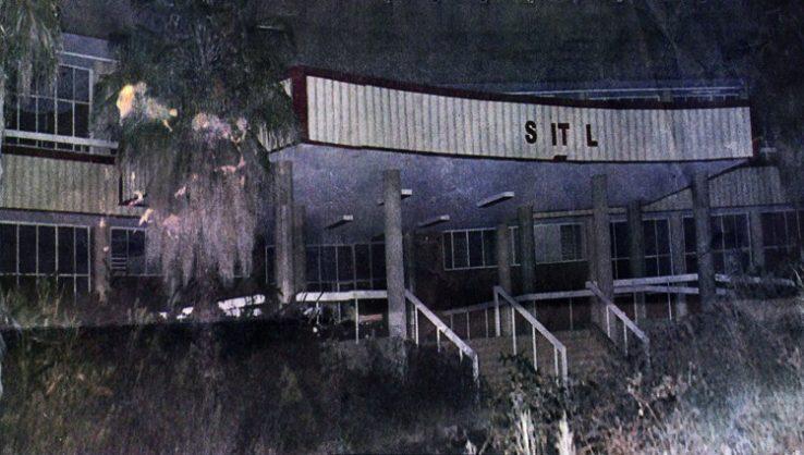 The dilapidated Kempton Park Hospital.