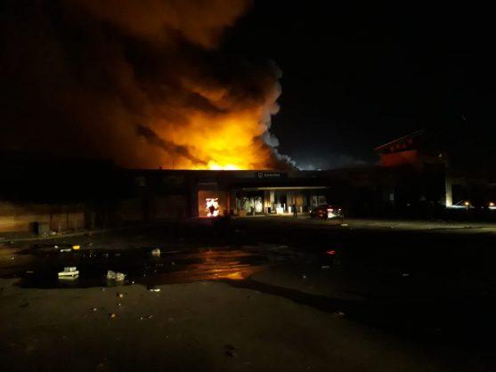 Protesters burn down Mpumalanga mall
