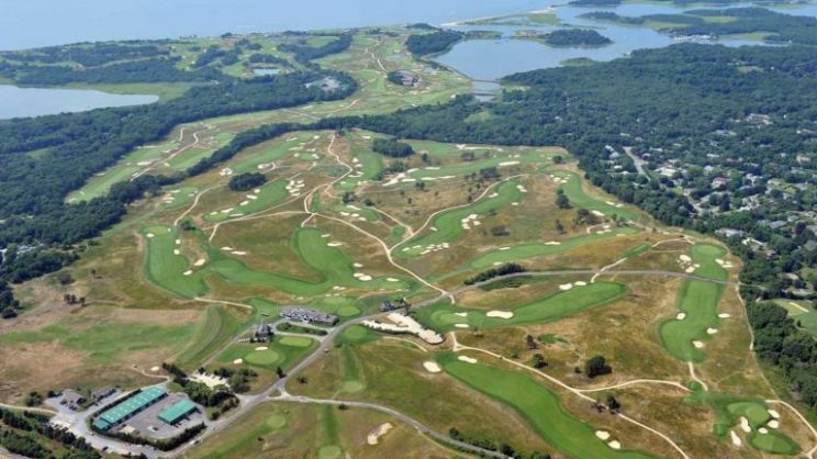 Shinnecock Hills golf course, Long Island, New York, US. Picture: Facebook