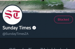 Why are these Twitter accounts blocking Sunday Times en masse?